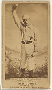 Frank T. Gilmore, Pitcher, Washington Nationals, from the Old Judge series (N172) for Old Judge Cigarettes