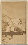 """William Smith """"Billy"""" O'Brien, 1st Base, Washington Nationals, from the Old Judge series (N172) for Old Judge Cigarettes"""