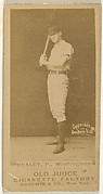 """John J. """"Egyptian"""" Healy, Pitcher, Washington Nationals, from the Old Judge series (N172) for Old Judge Cigarettes"""