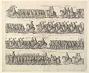 Coronation Procession of Charles II Through London