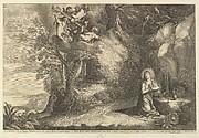 The Kneeling Magdalen, After Avont