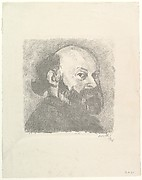 Portrait of C&#233;zanne