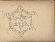 Star-shaped Ornament for a Brooch or Pendant