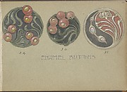 Three Designs for Enamel Buttons