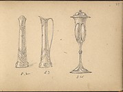 Designs for a Ewer and a Drinking Vessel