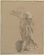 Drapery Study of a Woman with an Outstretched Arm