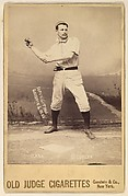Clark, Catcher, Brooklyn, from the series Old Judge Cigarettes