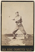C. Crynan, Pitcher, Chicago, from the series Old Judge Cigarettes
