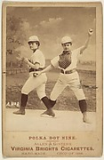 Card No. 8, from the advertising card series &quot;Cabinet Photos, Allen &amp;amp; Ginter&quot; (H807, Type 2), issued by Allen &amp;amp; Ginter to promote Virginia Brights Cigarettes