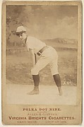 Card No. 1, from the advertising card series &quot;Cabinet Photos, Allen &amp;amp; Ginter&quot; (H807, Type 2), issued by Allen &amp;amp; Ginter to promote Virginia Brights Cigarettes