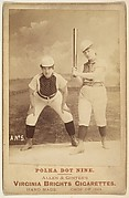 Card No. 5, from the advertising card series &quot;Cabinet Photos, Allen &amp;amp; Ginter&quot; (H807, Type 2), issued by Allen &amp;amp; Ginter to promote Virginia Brights Cigarettes