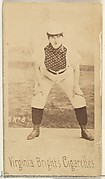 Card 8, from the Girl Baseball Players series (N48, Type 1) for Virginia Brights Cigarettes