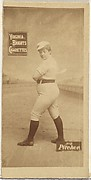 Pitcher, from the Girl Baseball Players series (N48, Type 2) for Virginia Brights Cigarettes