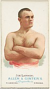 Joe Lannon, Pugilist, from World's Champions, Series 1 (N28) for Allen & Ginter Cigarettes