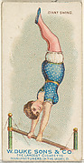 Giant Swing, from the Gymnastic Exercises series (N77) for Duke brand cigarettes