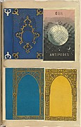 Four Lithographed Bookcovers, One for Our Antipodes