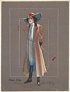 "Polo Girl, from the series ""Hamilton King Girls"" (T7, Type 6), issued by Turkish Trophies Cigarettes"