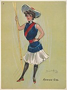 "Rowing Girl, from the series ""Hamilton King Girls"" (T7, Type 6), issued by Turkish Trophies Cigarettes"