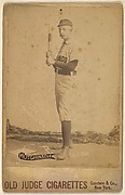"William Forrest ""Wild Bill"" Hutchinson, Pitcher, Chicago, from the series Old Judge Cigarettes"