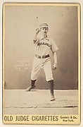 Shreve, Pitcher, Indianapolis, from the series Old Judge Cigarettes