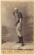 Brown, Catcher, New York, from the series Old Judge Cigarettes