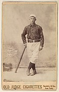 George, Pitcher, New York, from the series Old Judge Cigarettes