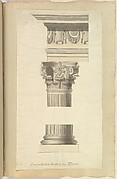 Corinthian Order from Tivoli