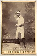 Tyng, Pitcher, Philadelphia, from the series Old Judge Cigarettes