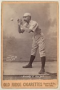 Murphy, Catcher, New York, from the series Old Judge Cigarettes