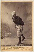 Richardson, 2nd Base, New York, from the series Old Judge Cigarettes