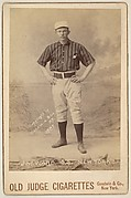 J.M. Ward, Shortstop, New York, from the series Old Judge Cigarettes