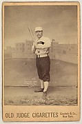 Weidman, Pitcher, New York, from the series Old Judge Cigarettes