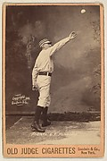 Andrews, Center Field, Philadelphia, from the series Old Judge Cigarettes