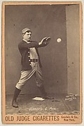 Clements, Catcher, Philadelphia, from the series Old Judge Cigarettes