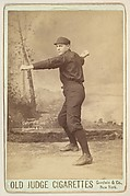 Henry, Pitcher, Philadelphia, from the series Old Judge Cigarettes