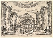 Grotto scene with Vulcan, from 'The marriage of the gods' (Le nozze degli Dei)