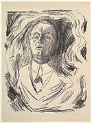 Self-Portrait with a Cigar