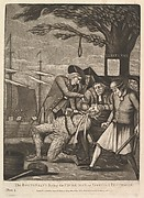 The Bostonians Paying the Excise-Man, or Tarring & Feathering