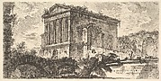 Plate 26: Temple of Clitumnus between Foligno and Spoleto . . . (Tempio di Clitumno tra Fuligno e Spoletti . . .)
