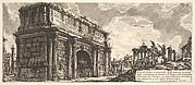 The Arch of Septimius Severus (Arco di Severo, e Caracalla)