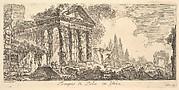 Temple of Pola in Istria (Tempio di Pola in Istria)