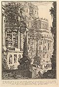 Ancient mausoleum erected for the ashes of a Roman Emperor (Mausoleo antico eretto per le ceneri d'un Imperadore Romano)