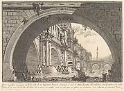 Magnificent bridge with loggias, and arches erected by a Roman Emperor . . . (Ponte magnfiico con Logge, ed Archi erretto da un Imperatore Romane . . .)