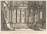 Colonnaded hall according to the custom of the ancient Romans, and niches adorned with statues (Sala all'uso degli antichi Romani con Colonne, e nicchie ornate di Statue)