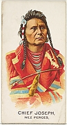 Chief Joseph, Nez Perces, from the American Indian Chiefs series (N2) for Allen & Ginter Cigarettes Brands