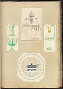 Designs for Two Ewers, a Carafe (two alternate designs), and a Covered Tureen