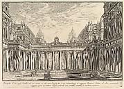 The ancient Capitol ascended by approximately one hundred steps . . . (Campidoglio antico a cui si ascendeva per circa cento gradini . . .)
