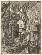 The Round Tower, from Carceri d&#39;invenzione (Imaginary Prisons)