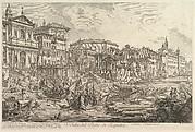 The smaller harbor, called the Porto di Ripetta (Veduta del Porto di Ripetta)