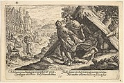 Drunkenness of Noah, from Scenes from Genesis